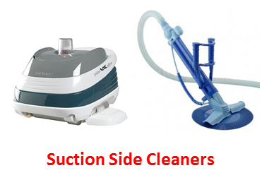 Swimming Pool Side Suction Cleaners