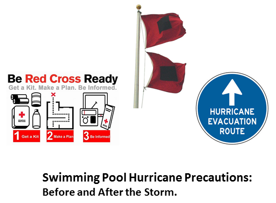 Swimming Pool Hurricane Precautions